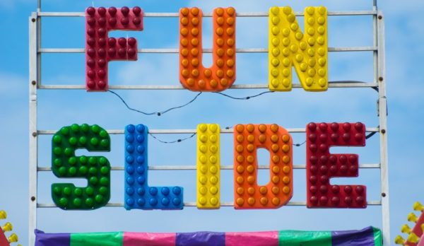 """Fun Slide"" at the Arlington County Fair (Flickr pool photo by John Sonderman)"