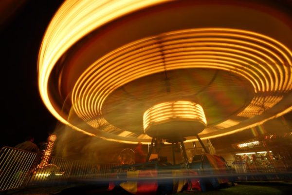 Merry-go-round at Arlington County Fair (Flickr pool photo by Kevin Wolf)