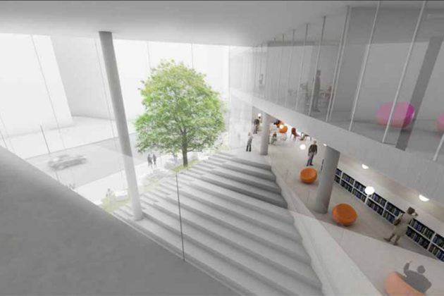 Central space rendering (Via APS)