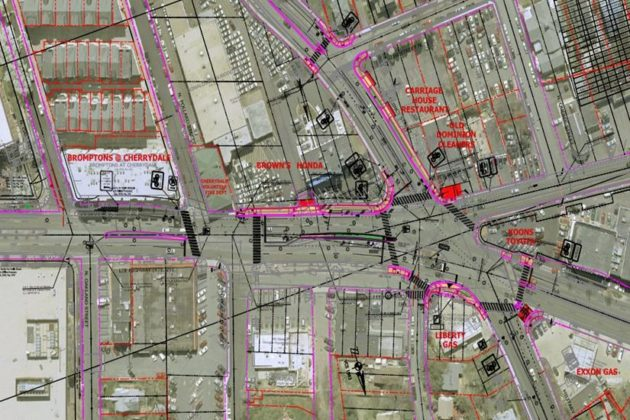 County staff spent several years studying the intersection and how to improve it