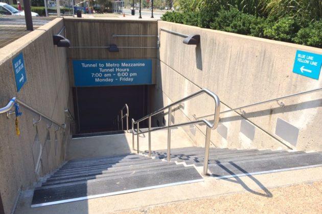 New Pentagon City Metro entrance (2015 photo)