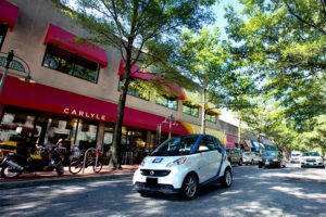 Car2Go at the Village of Shirlington (courtesy photo)