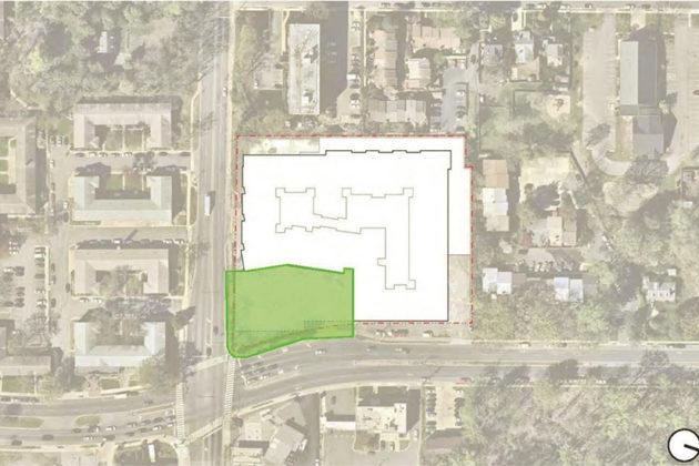 Location of the public square (via Arlington County)