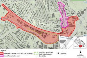 Shirlington Crescent- Four Mile Run Study area (Via Arlington County)