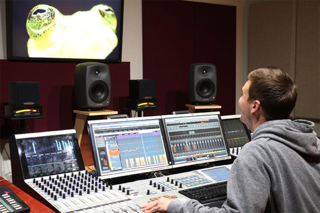 Henninger Senior Sound Mixer Andrew Bozza