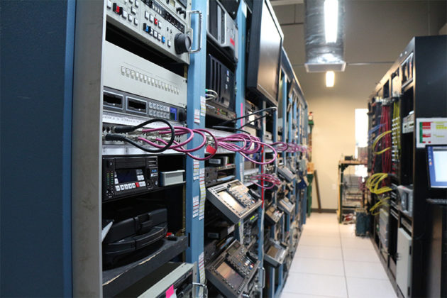 """""""The Core"""" holds the servers, computers and technical equipment for running large video files"""