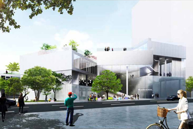 Wilson Blvd entrance rendering (Via APS)