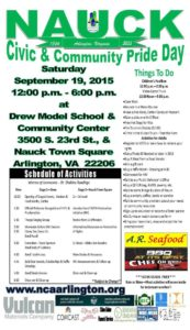 2015 Nauck Civic Pride Day Flyer