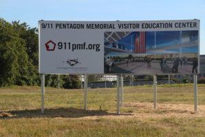 Site of new Pentagon Memorial Visitor Center