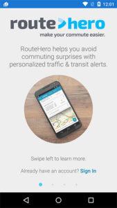 RouteHero (Courtesy of Thomas Woo)