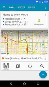 RouteHero app dashboard