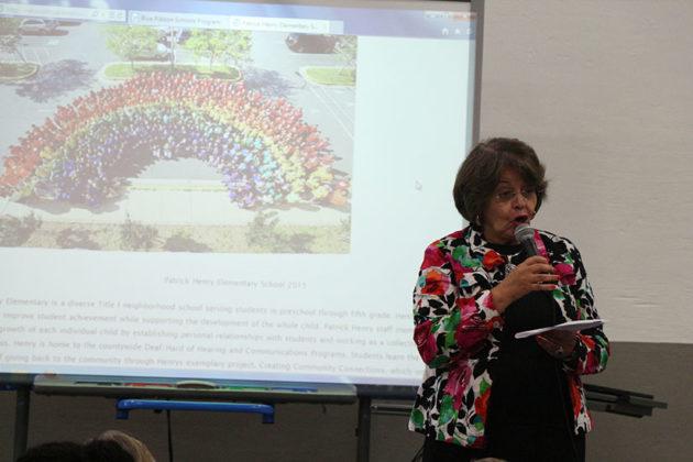 School Board Chair Emma Violand-Sanchez