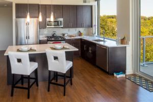 Verde Pointe kitchen area