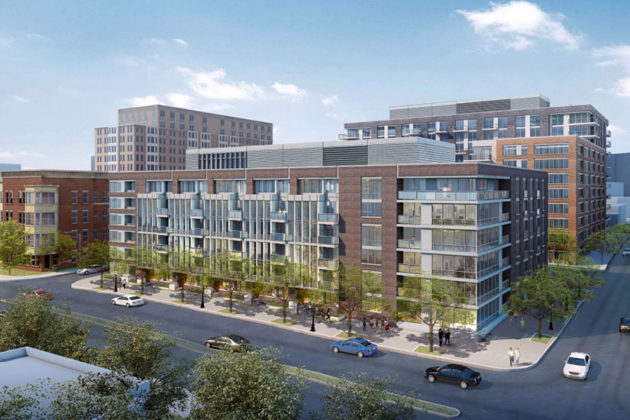 Shooshan/Red Top redevelopment rendering (photo via Arlington County)