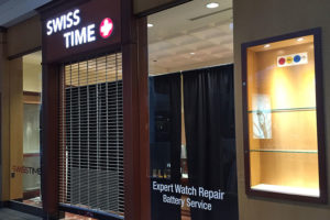 Swiss Time at Fashion Centre at Pentagon City (Courtesy of Eric Kim)