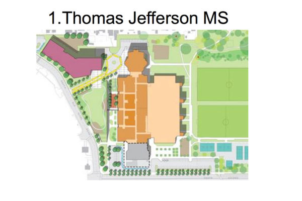 New elementary school near Thomas Jefferson (via APS)