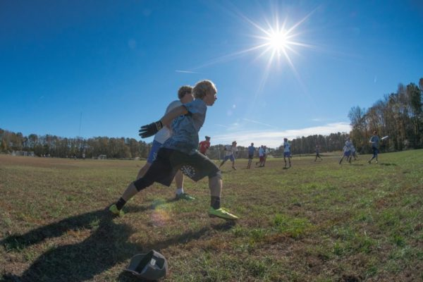 Ultimate Frisbee (Flickr pool photo by Kevin Wolf)