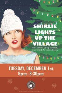 Shirlie Lights Up The Village (via Facebook:The Village at Shirlington)
