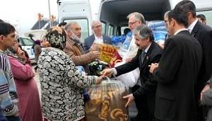Syrian Refugee Blanket and Coat Drive (via Arlington County)