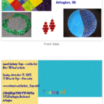 artist expo and craft fair flyer