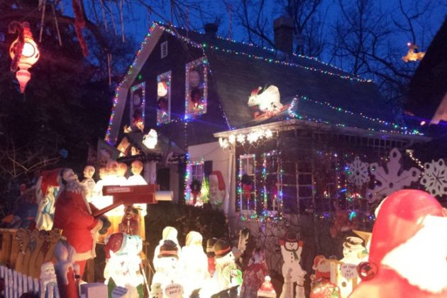 where are the craziest christmas decorations in arlington - Arlington Christmas Lights