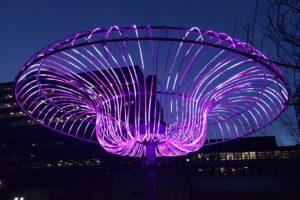 Crystal City Lights chandelier