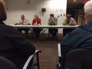 Douglas Park Civic Association meeting about postal service in the neighborhood