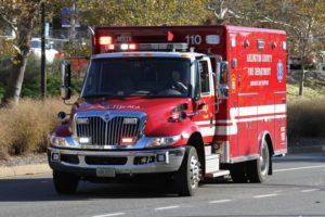 ACFD Arlington County ambulance (file photo)