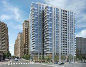 Rendering of 4000 Fairfax Drive (Carpool redevelopment)