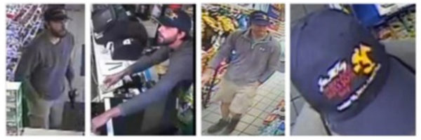 Serial gas station robber (photo via FBI)