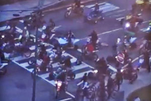 ATV and dirt bike riders in D.C. (screen shot via PoPville)