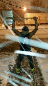 A-Town snow shovel (photo via Facebook)