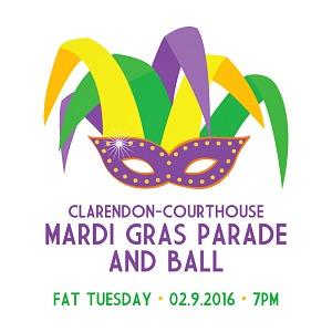 Clarendon Mardi Gras Parade 2016