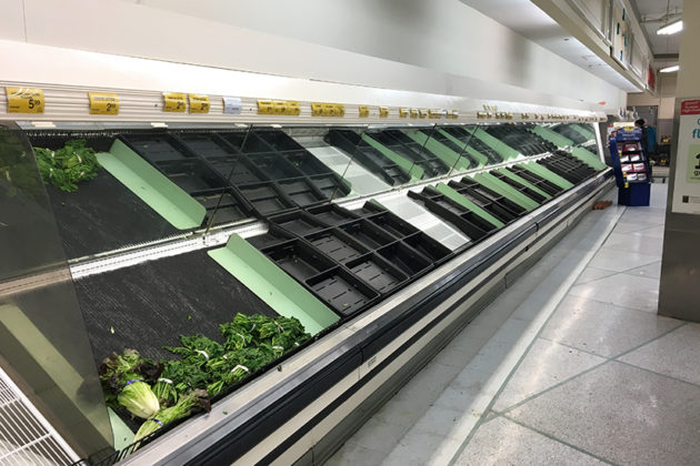 Produce has been hard to come by at some area stores