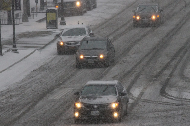 Many roads across the area are only getting worse