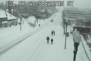 Snow traffic cam Jan. 23