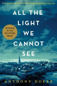 All the Light We Cannot See (photo via Arlington Public Library)