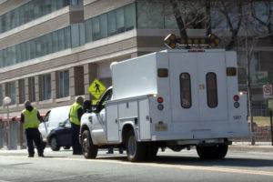 Arlington County road crew