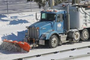 snow plow jan. 24