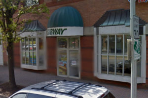 Subway store in Clarendon (photo via Google Maps)