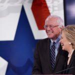 Bernie and Hillary (photo via Facebook)