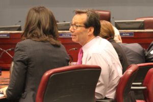 Jay Fisette at County Board budget work session (file photo)
