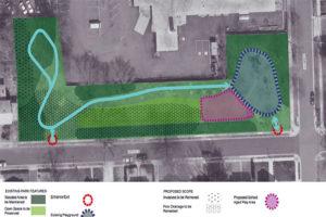 Nelly Custis Park plans (Image via Arlington County)