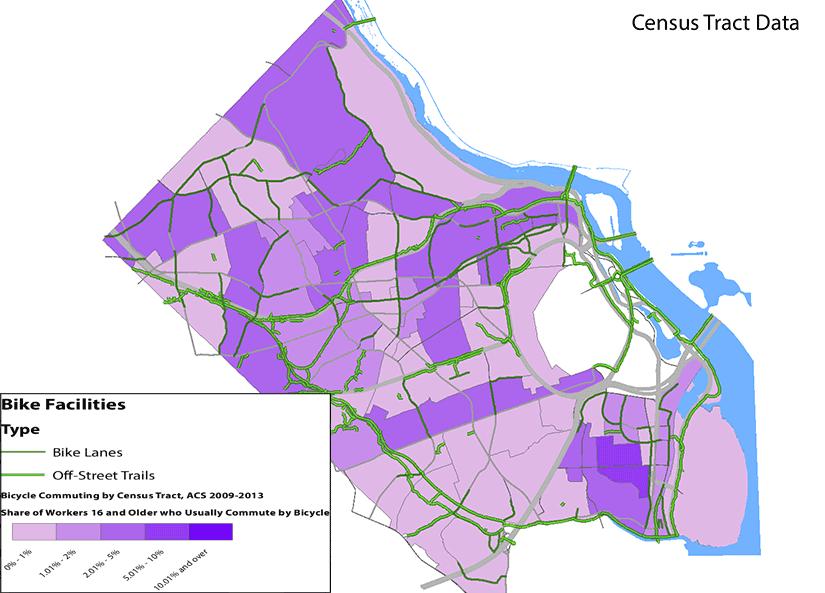 Where Do Bike Commuters Live in Arlington ARLnowcom