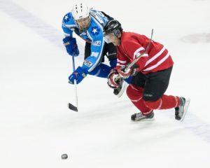 Charity hockey game (Photo via @CanEmbUSA)