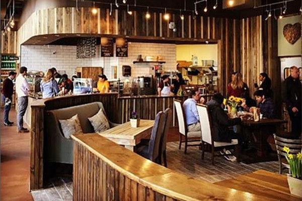 Sweet Leaf Cafe at 800 N. Glebe Road in Ballston