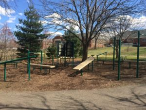 Fairlington Park exercise equipment