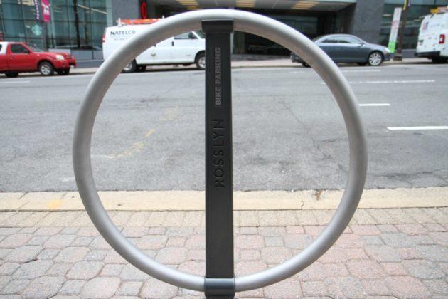 New Rosslyn bike rack