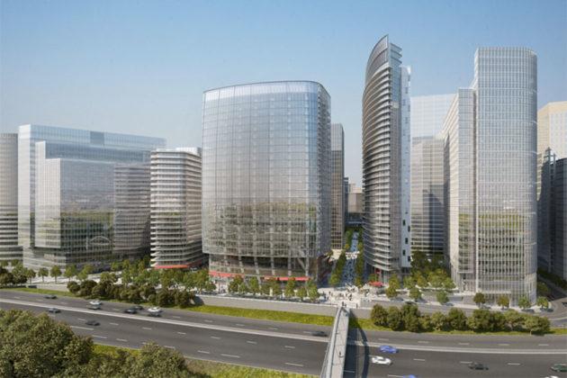 Rosslyn Plaza rendering