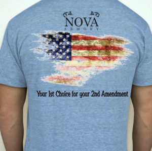 Nova Armory t-shirt